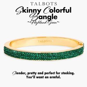 Bangle ~ Colorful - Skinny - Highland Green